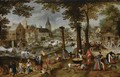 The Kermesse Of Saint George - Flemish School