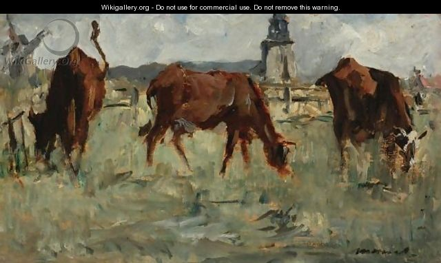 Vaches Au Paturage - Edouard Manet