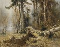 The Forest In Early Morning - Iulii Iul'evich (Julius) Klever