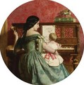 The First Piano Lesson 2 - Charles West Cope