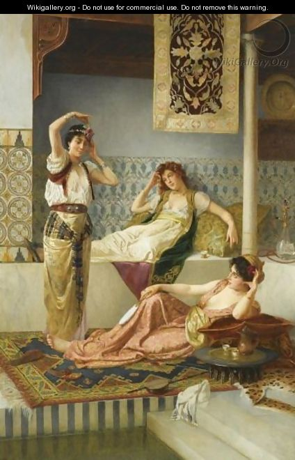 In The Harem - Vincent G. Stiepevich