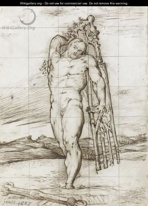 Samson Carrying The Gates Of Gaza - George Richmond