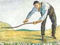 The Mower - Ferdinand Hodler