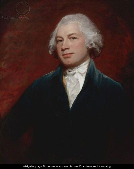 Portrait Of James Wildman Esq., Of Bedford Square - George Romney