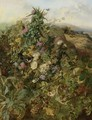 Wild Raspberries And Thistles - John Wainwright