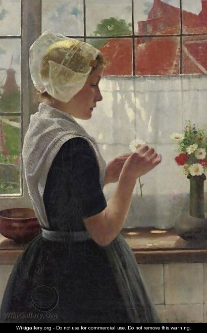 Daydreaming By The Window - Theodor Grust
