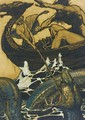 Sea Battle (Stories From The Edda) - Arthur Rackham