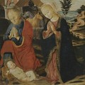 The Nativity - Bernardino Fungai