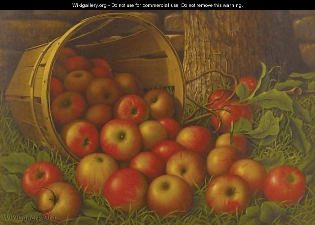 Basket Of Apples 3 - Levi Wells Prentice