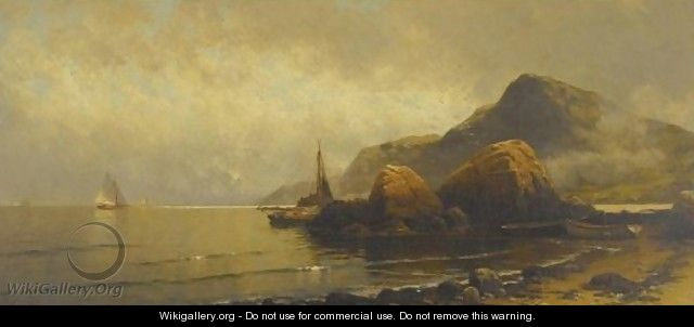 Rocky Coast 3 - Alfred Thompson Bricher