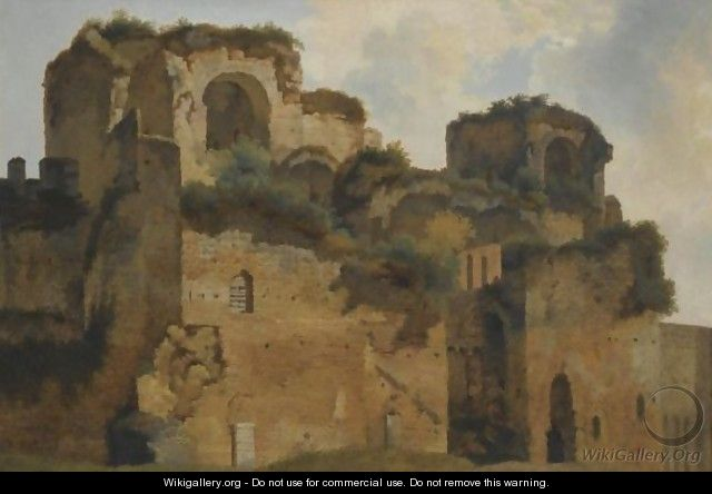 Rome, A View Of The Forum - Francois-Marius Granet