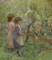 The Orchard - Elizabeth Adela Forbes