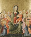 The Madonna And Child With Music-Making Angels - Giovanni di ser Giovanni Guidi (see Scheggia)