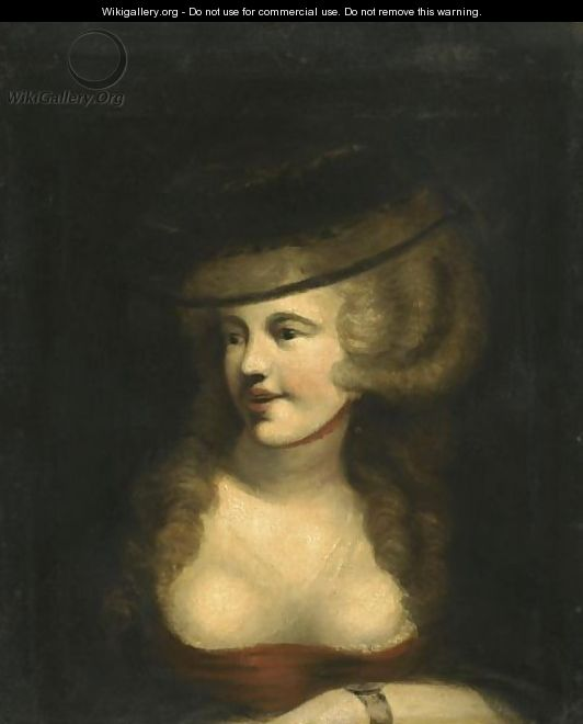 Portrait Of Sophia Rawlins, The Artist