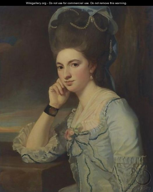 Portrait Of A Lady 2 - George Romney