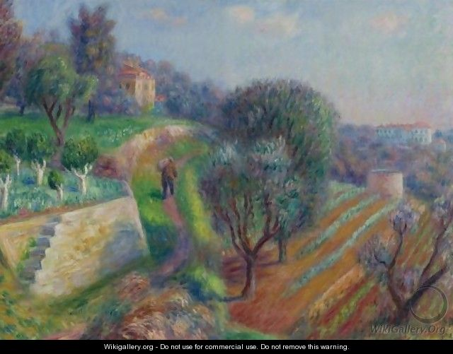 Hillside - William Glackens
