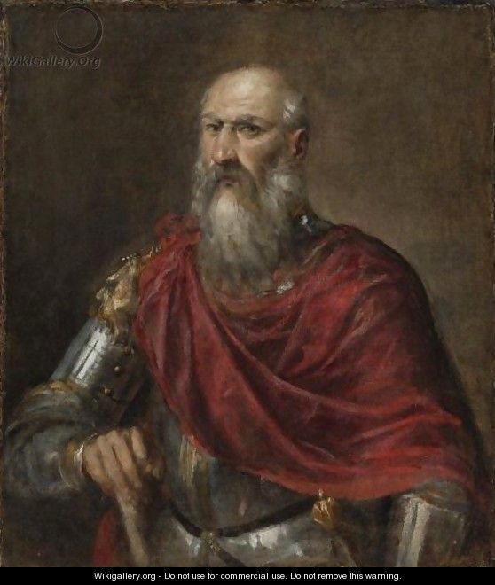Portrait Of An Admiral, Probably Francesco Duodo (1518-1592) - Tiziano Vecellio (Titian)