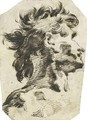 Head Of A Man, Turned To The Right - Giovanni Battista Piranesi