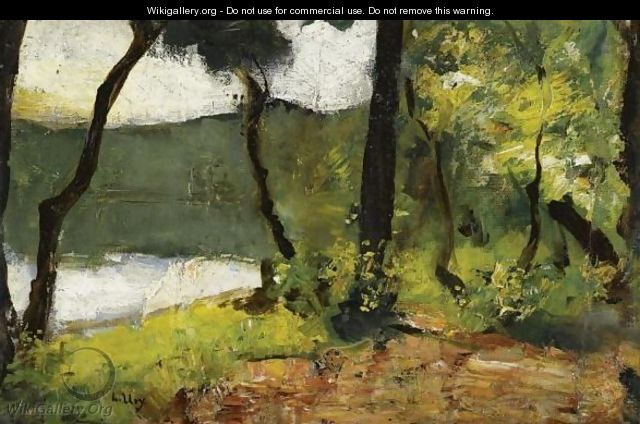 Lake In Mark Brandenburg - Lesser Ury