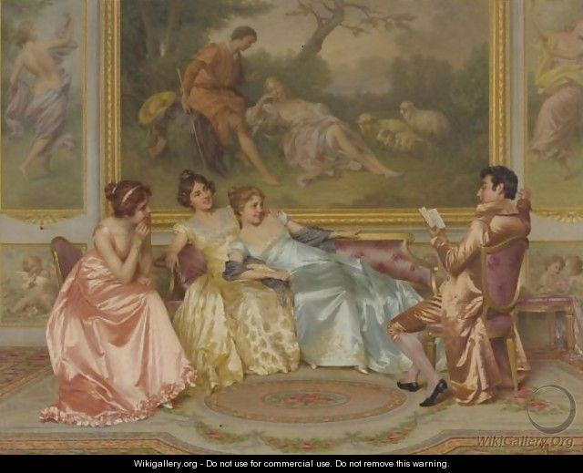 The Storyteller - Vittorio Reggianini