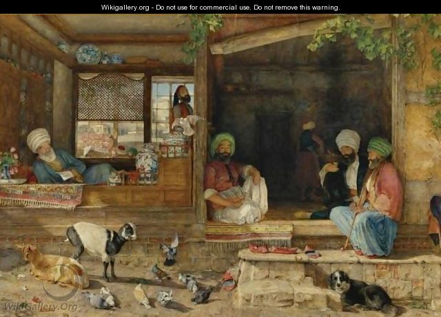 The Kibab Shop, Scutari, Asia Minor 2 - John Frederick Lewis