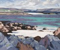 The North End Of Iona - Francis Campbell Boileau Cadell