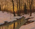 Winter Sunset 2 - Ivan Fedorovich Choultse