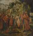 Five Episodes From The Life Of Moses - Flemish School