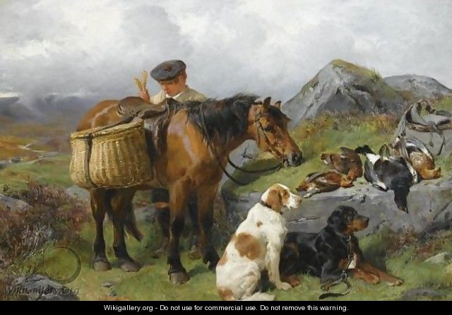 The Young Gamekeeper 2 - John Sargeant Noble, R.B.A.