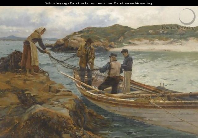 Clearing The Nets - William Henry Bartlett