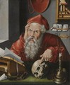 Saint Jerome In His Study 6 - (after) Cleve, Joos van