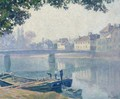 Les Bords De La Marne - Henri Lebasque