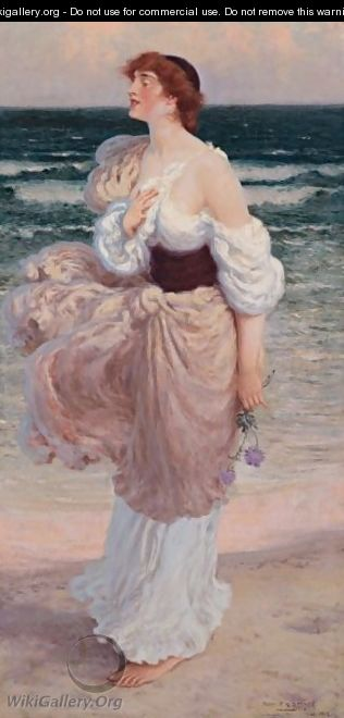 By The Seashore - Percy Spence