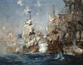 The Battle Of Trafalgar, 21st October 1805 - Charles Edward Dixon