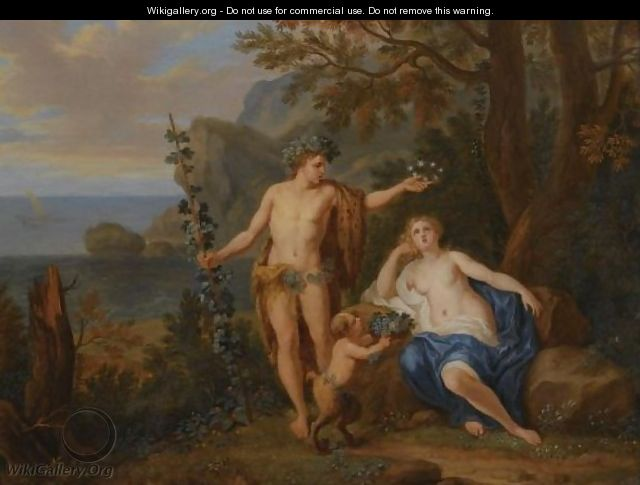 Bacchus And Ariadne - Victor Honore Janssens
