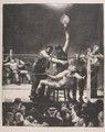 Between Rounds, Small, Second Stone - George Wesley Bellows