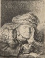 Old Woman Sleeping - Rembrandt Van Rijn
