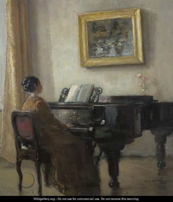 The Little Pianist - Hans Borchardt