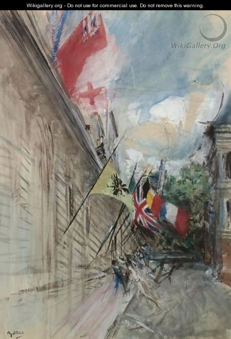 Paris, 14 July - Giovanni Boldini