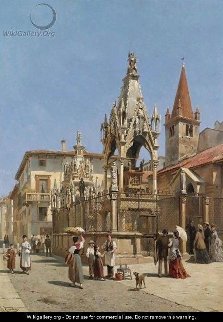 The Arche Scaligere, Verona - Jacques Carabain