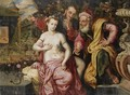 Susanna And The Elders - (after) Frans, The Elder Floris
