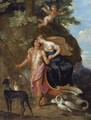 Venus And Adonis 2 - Balthasar Beschey