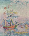 La Corne D'Or. Le Pont - Paul Signac