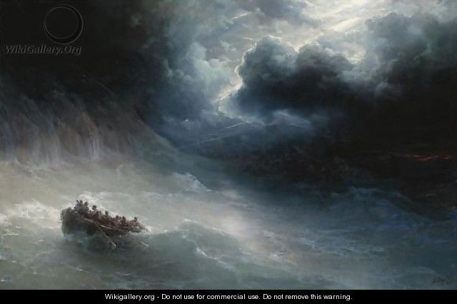The Wrath Of The Seas - Ivan Konstantinovich Aivazovsky