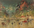 Paris By Night 6 - Konstantin Alexeievitch Korovin