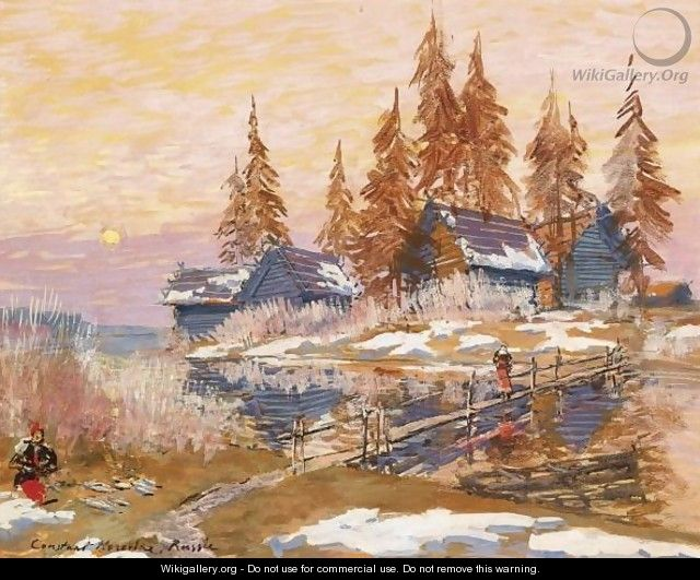 Late Winter - Konstantin Alexeievitch Korovin