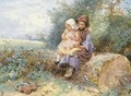 The Little Nurse - Myles Birket Foster