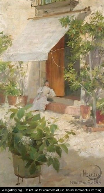 Descansando En La Sombra (Resting In The Shade) - Francisco Masriera y Manovens