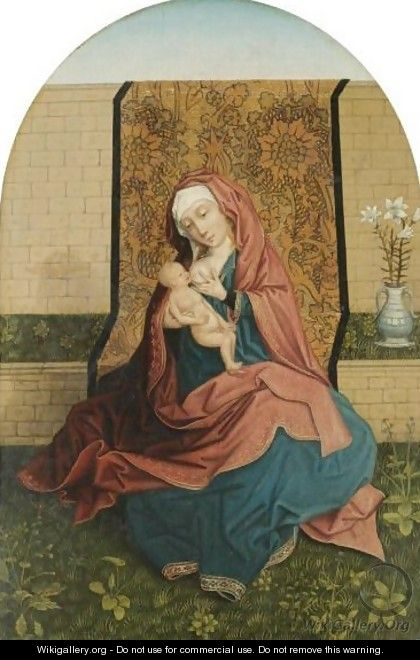The Virgin And Child 4 - (after) Rogier Van Der Weyden