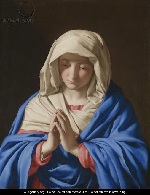 Madonna At Prayer - Giovanni Battista Salvi, Il Sassoferrato
